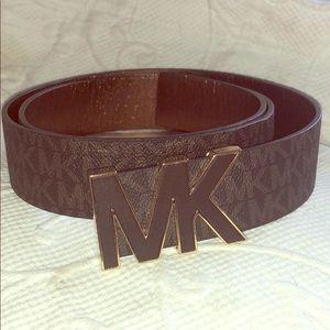 Michael Kors signature belt Synthetic materials